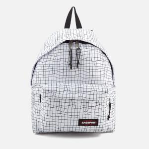 Eastpak Men's Authentic Padded Pak'r Backpack - White Dance