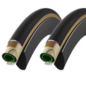 Vittoria Corsa G+ Tubular Tyre Twin Pack