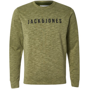 Jack & Jones Men's Core Pase Sweatshirt - Capulet Olive