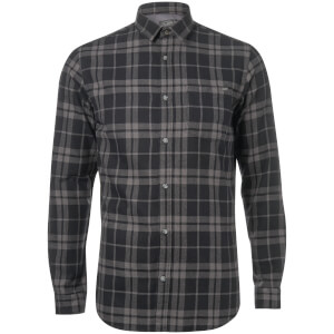 Jack & Jones Originals Men's Bravo Long Sleeve Check Shirt - Black
