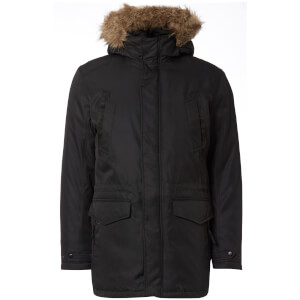 Jack & Jones Core Men's Land Parka Jacket - Black