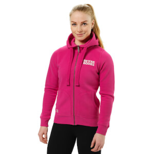 Better Bodies Soft Hoody - Hot Pink