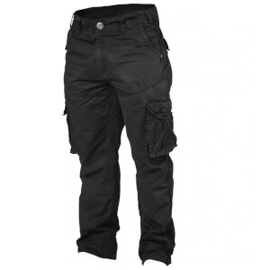 GASP Cargo Pocket Pants - Black