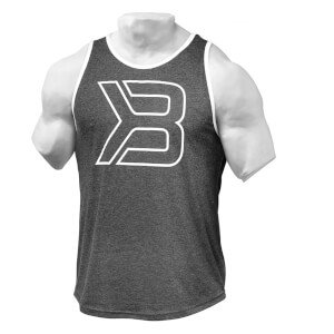 Better Bodies Jersey Tank Top - Antracite Melange