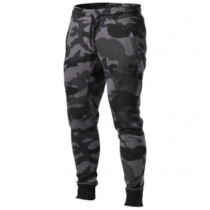 Better Bodies Tapered joggers - Dark camo