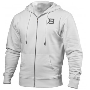 Better Bodies Jersey Hoody - White