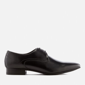 Hudson London Men's Leto Leather Derby Shoes - Black