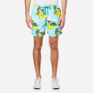 Vilebrequin Men's Moorea Print Swim Shorts - Mini Moke