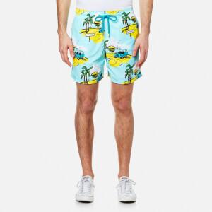 Vilebrequin Men's Moorea Print Swim Shorts - Mini Moke