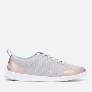 Lacoste Women's Avenir 317 2 Mesh Runner Trainers - Light Grey