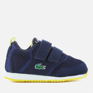 dfaaeeac0 Lacoste Toddlers  L.IGHT 117 1 Runner Trainers - Navy Blue
