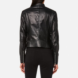Belstaff Women's Mollison Leather Jacket - Black