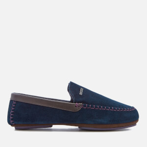 Ted Baker Men's Moriss 2 Suede Moccasin Slippers - Dark Blue