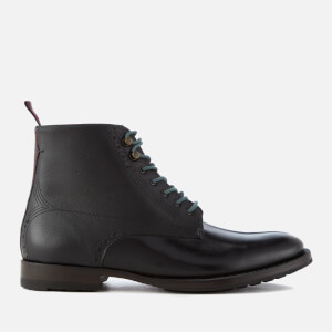 Ted Baker Men's Dhavin Leather Lace Up Boots - Black