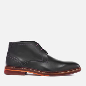 Ted Baker Men's Azzlan Leather Desert Boots - Black