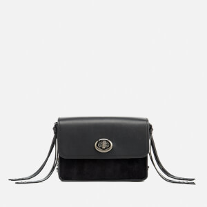 Coach Women's Turnlock Chain Tassel Cross Body Bag - Black