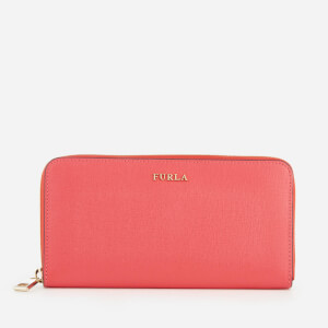 Furla Women's Babylon Medium Zip Around Purse - Rosa