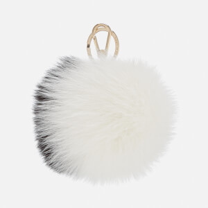 Furla Women's Bubble Keyring - Black/White