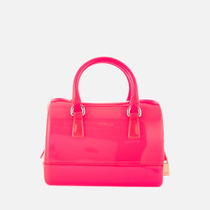 Furla Women's Candy Cookie Satchel Bag - Rodonite Fluo