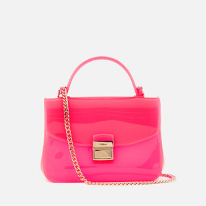 Furla Women's Candy Sugar Mini Cross Body Bag - Rodonite Fluo
