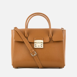 Furla Women's Metropolis Medium Satchel Bag - Tan