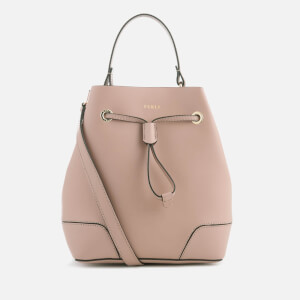 Furla Women's Stacy Small Drawstring Bag - Cream