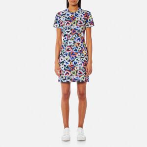 Love Moschino Women's Heart T-Shirt Dress - Multi