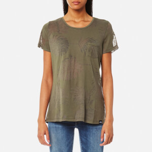Superdry Women's Essential Pocket T-Shirt - Vine Khaki