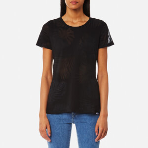 Superdry Women's Essential Pocket T-Shirt - Jungle Black