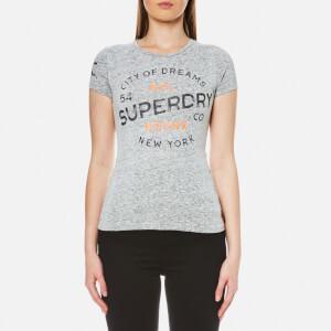 Superdry Women's City of Dreams T-Shirt - Black