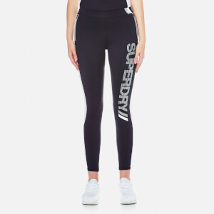 Superdry Women's Super Speed Sport Leggings - Navy