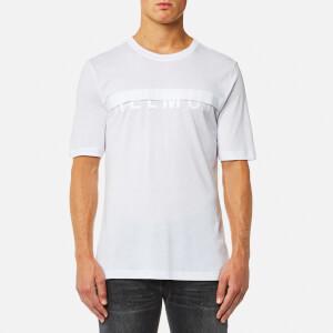 Helmut Lang Men's Half Logo T-Shirt - White