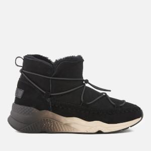 Ash Women's Mitsouko Suede Ankle Boots - Black