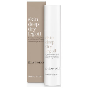 this works Skin Deep Dry Leg Oil 80ml - Limited Edition