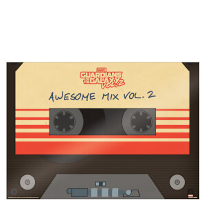Affiche Encadrée Gardiens de la Galaxie Vol.2 (Awesome Mix Vol. 2)