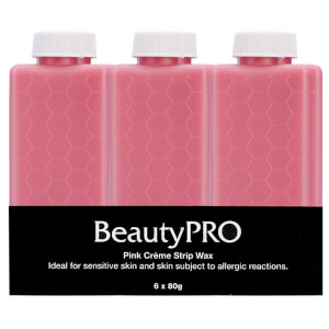 BeautyPro Pink Creme Strip Wax 6 x 80g