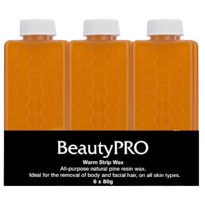 BeautyPro Warm Strip Wax Cartridge 6 x 80g