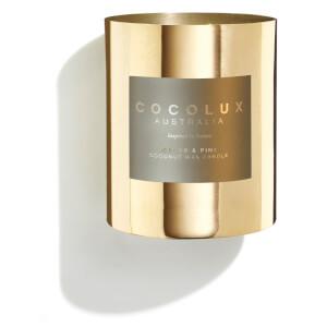Cocolux Australia Brass Candle Cedar & Pine 350g