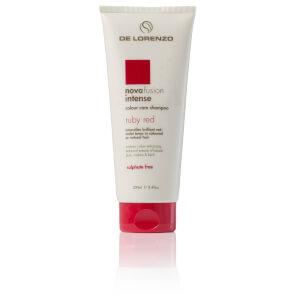 De Lorenzo Novafusion Intense Colour Care Shampoo Ruby Red