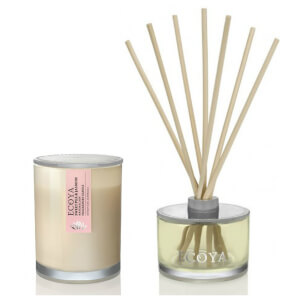 ECOYA Metro Jar Candle And Reed Diffuser Set - Sweet Pea & Jasmine