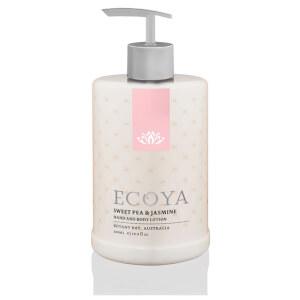 ECOYA Sweet Pea & Jasmine Hand & Body Lotion 500ml