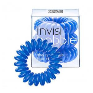 invisibobble The Traceless Hair Ring 3 Pack - Navy Blue