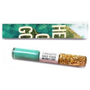 LAQA & Co. Gold Fleck Manicure - Lacey 2 x 6ml