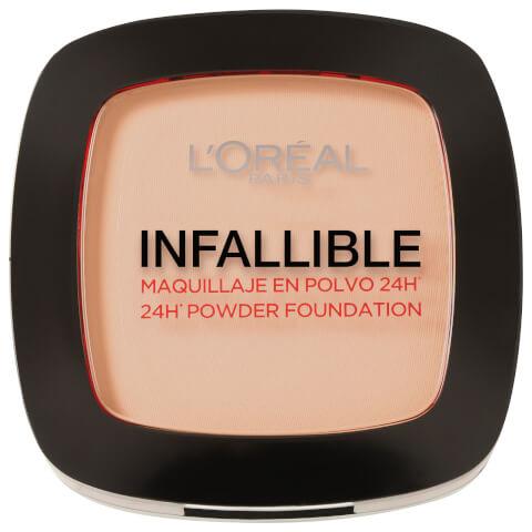 L'Oréal Paris Infallible Compact Powder Foundation - 123 Warm Vanilla