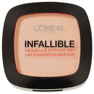 L'Oréal Paris Infallible 24hr Powder Foundation #123 Warm Vanilla 9g
