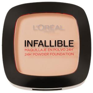L'Oréal Paris Infallible 24hr Powder Foundation #123 Warm Vanilla 9g