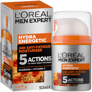 L'Oréal Paris Men Expert Hydra Energetic Anti-Fatigue Daily Moisturiser 50ml
