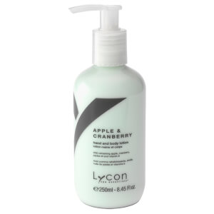 Lycon Apple & Cranberry Hand And Body Lotion 250ml