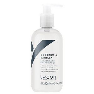 Lycon Coconut And Vanilla Hand And Body Lotion 250ml