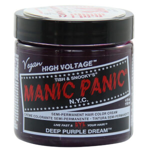 Manic Panic Semi-Permanent Hair Color Cream - Deep Purple Dream 118ml